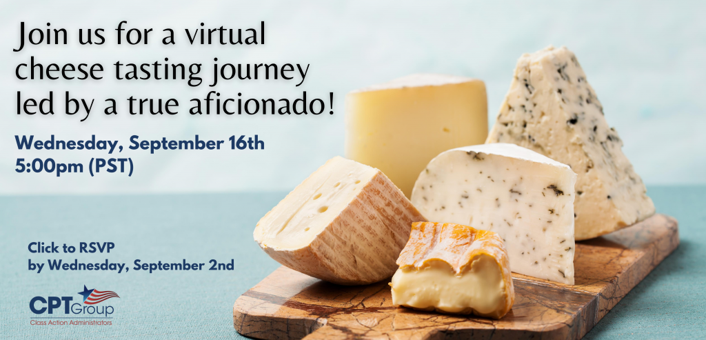 Join us for a virtual cheese tasting journey led by a true aficionado!